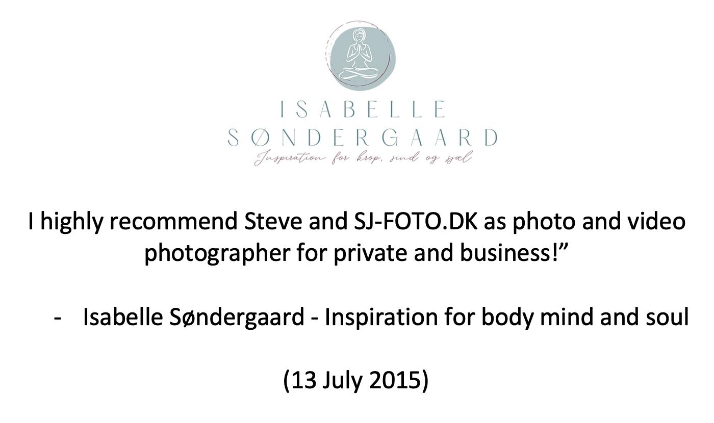 –Isabelle Søndergaard – Inspiration for body mind and soul